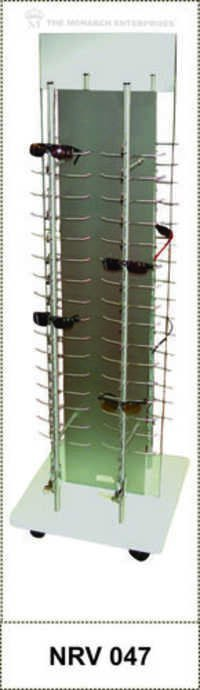 Eyewear Display Non Revolving Floor Standee
