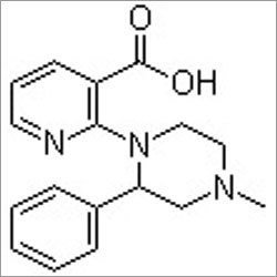 1-(3-Carboxypyrid-2-yl)-2-phenyl-4-methyl-piperazine