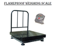 FLAMEPROOF WEIGHING SCALES