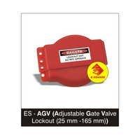 Adjustable Gate Valve Lockout ( 25 mm -165 mm )