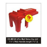 Ball Valve Lockout for Dia 3/8