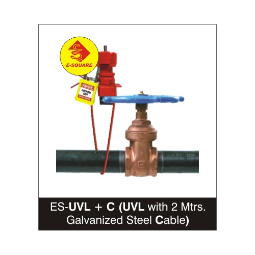 Universal Valve / Cable Lockout with 2 Mtrs Cable