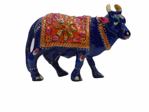 Decorative Metal Cow