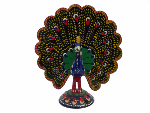 Decorative Metal Peacock