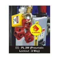 Pneumatic Quick Disconnect Lockout\