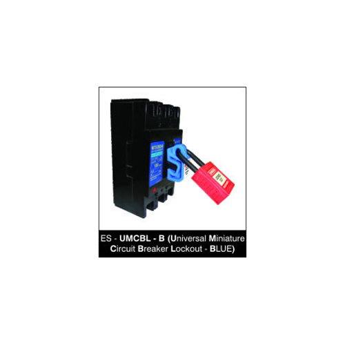Universal Miniature Circuit Breaker Lockout - BLUE