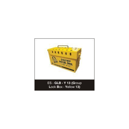 Yellow Group Lock Box