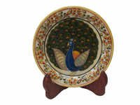 Marble Decorative Painted Plate