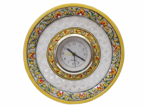 Marble Decorative Table Clock