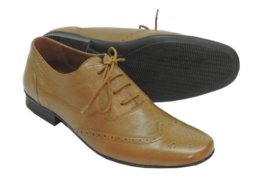 Leather Brouge Shoes