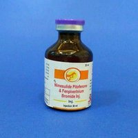 Veterinary Nimesulide, Pitofenone fenpiverinium Injection