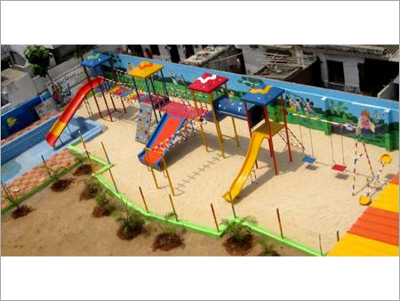Plastic Playground Slide