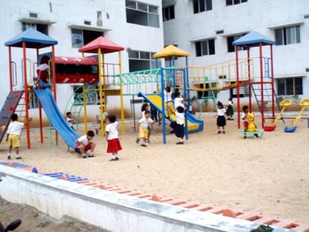 School Park Slide
