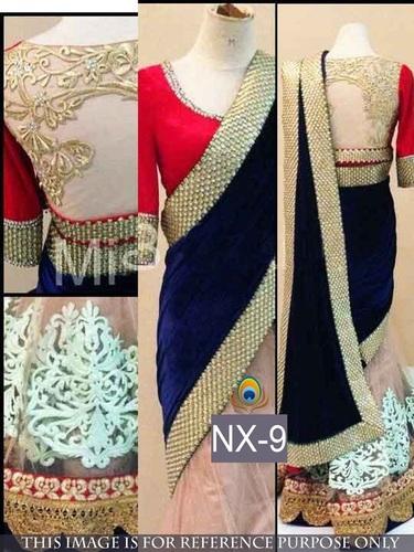 Designer Exclusive Latest Stylish Heavy Work Saree