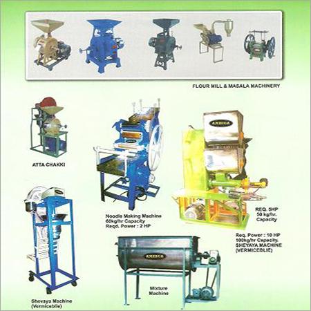 Chakki +Noodle + Mixer+Vermiceli Machine