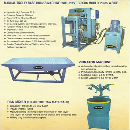 Ki Ambica Brick & Vibro Table Mch