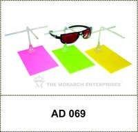 Rectangular Acrylic Niche Sunglass Display