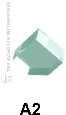 Diamond Shaped Niche Displays For Frames & Sunglasses