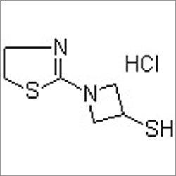 1-(4,5-Dihydro-2-thiazolyl)-3-azetidinethiol hydrochloride