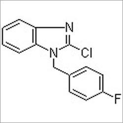 1-(4-Fluorobenzyl)-2-chlorobenzimidazole