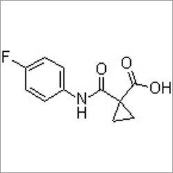 1-(4-Fluorophenylcarbamoyl)cyclopropanecarboxylic acid