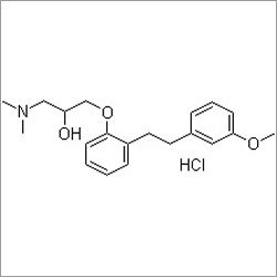 1-(Dimethylamino)-3-[2-[2-(3-methoxyphenyl)ethyl]phenoxy]-2-propanol hydrochloride