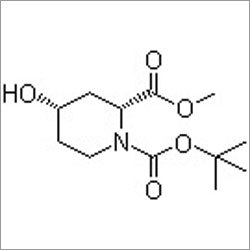 1-(tert-Butyl) 2-methyl (2R,4S)-4-hydroxypiperidine-1,2-dicarboxylate