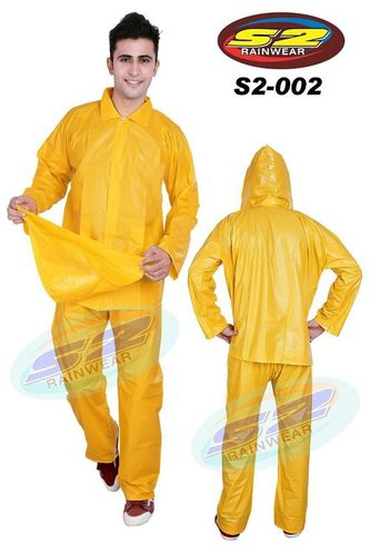 S2 Yellow Rain Suit
