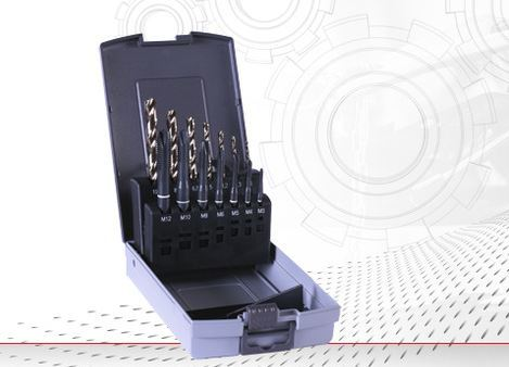 14-piece twist drill and tapping Set