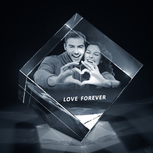 Personalised 3D Photo Crystal gifts
