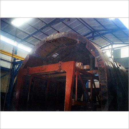 Tunnel Forming Work With Hydraulic Trolley