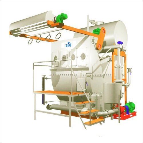 Sourcing Machine with Caustic Recovery System