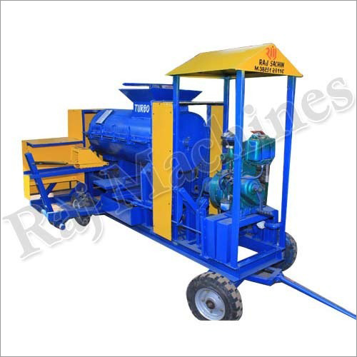 Diesel Engine Brick Making Machine