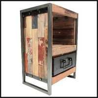 Reclaimed Wood Industrial Furniture