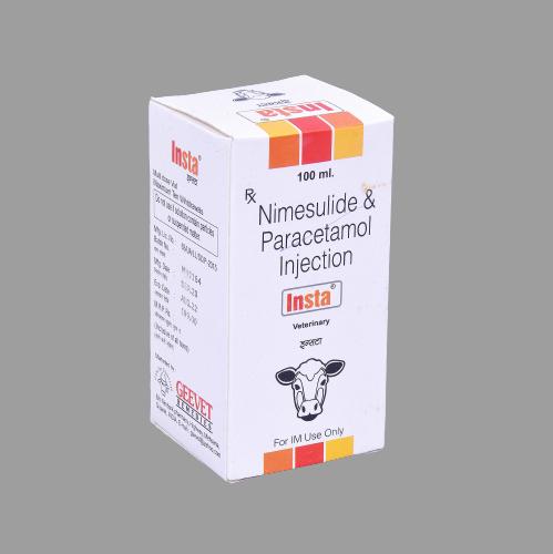 Nimesulide And Paracetamol Injection