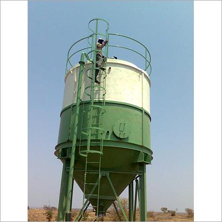 50吨容量垂直的水泥筒仓