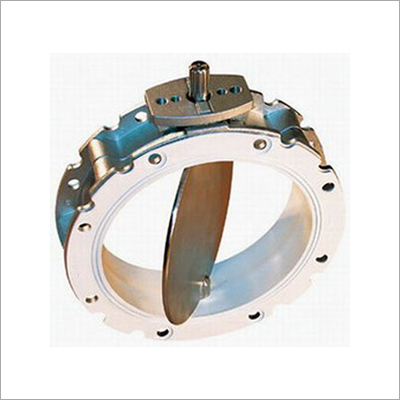 Silo Discarge Butterfly Valve