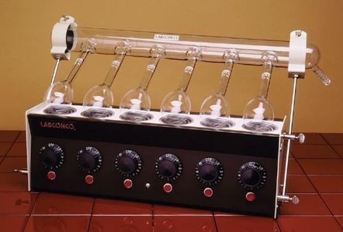 Universal Combined Kjeldhal Digestion & Distillation Unit