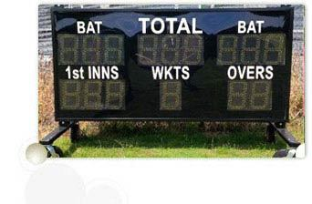 Manually Operated Cricket Scoreboard