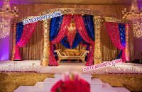 Wedding Delizio Carved Mandap