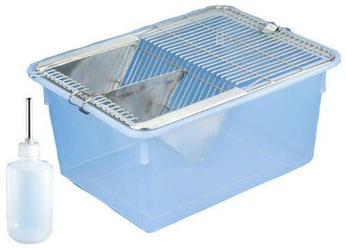 Animal Cage Polypropylene with S.S.Grill & Water