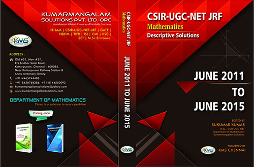 CSIR UGC NET JRF Mathematics Books