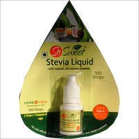 Stevia Liquid Sweetener