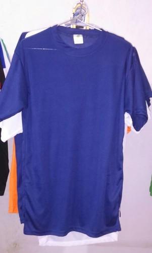 Blue Color Lycra T-Shirt