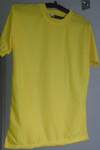 Yellow Color Lycra T-Shirt