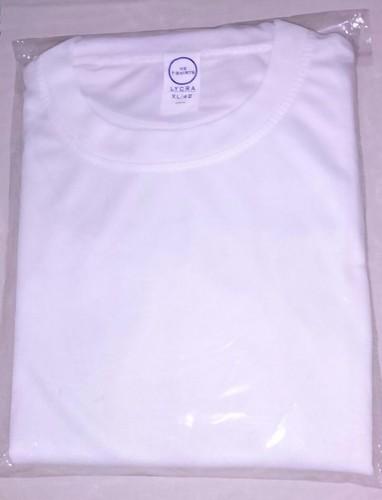 Hi Quality White Lycra T-Shirt