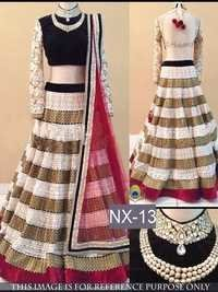 Fancy Designer Stylish Latest Party Wear Lehenga