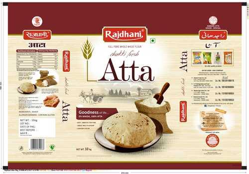 Rajdhani Atta 10kg Pouch