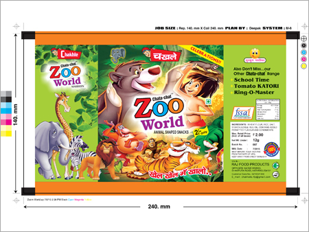 Zoo World Pouch
