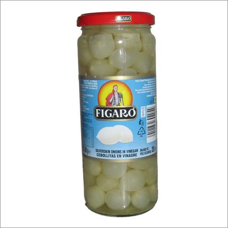 Figaro Silver Skin Onions In Vinegar
